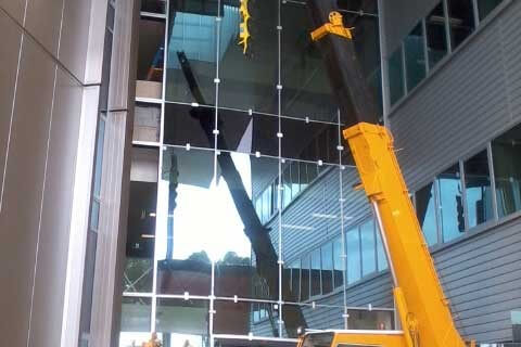 Gold coast steel erection projects rankin steel and rigging for Griffith university gold coast swimming pool