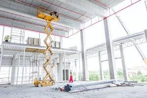 H Hire Scissor Lift Equipment Gold Coast Rankin Steel and Rigging